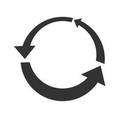 Circle arrow logo design
