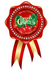 クリスマス ヒイラギ メダル アイコン