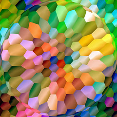 Abstract coloring background of the abstract gradient with visual lighting,mosaic,spherize and pinch effects,good for your design
