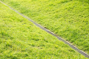グラウンドの排水設備