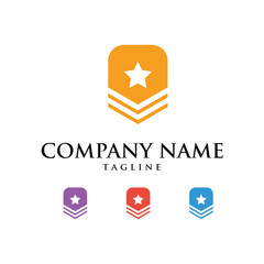 Military Army Logo Icon Vector