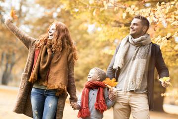 Herbst zeit Familie