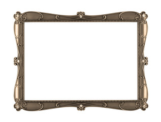 sepia metal art frame