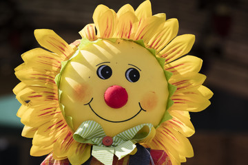 fun cloth sunflower