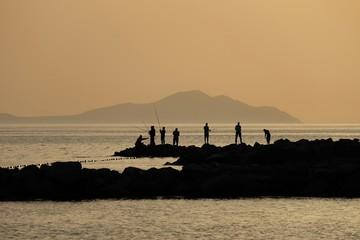 Günbatımı ve Balıkçılar