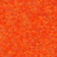 seamless pattern with orange triangles,