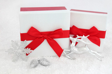 Christmas Gift Boxes and Decorations