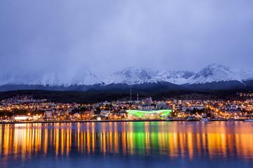 Ushuaia im Abendlicht