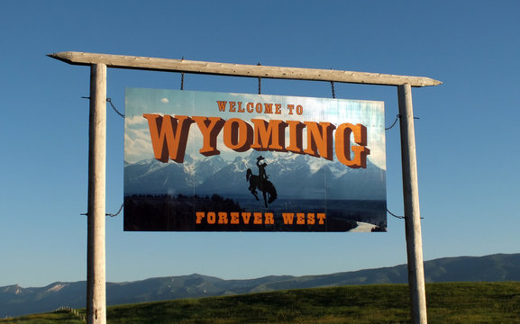 Wyoming Sign