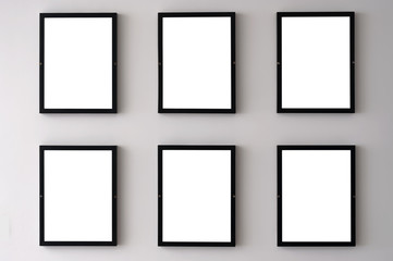 White Wall Picture Frames