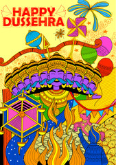 Ravan Dahan for Dusshera celebration