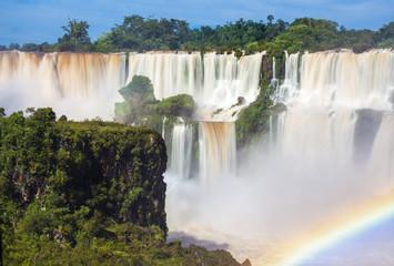 Iguacu-Wasserfälle, Panorama