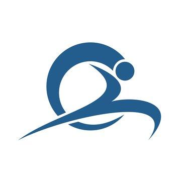 Leap sport logo design