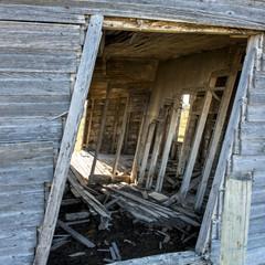 Abandoned Old barn, Manitoba, Canada