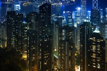 Hong Kong city : Condominium style.