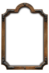 Frame wood country style.