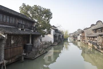 Jiangnan Water Village Scenery