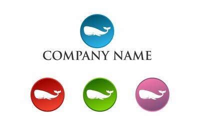 The Whale Logo Design