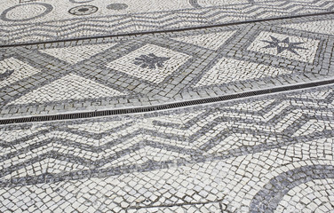 Floor decorative symbols