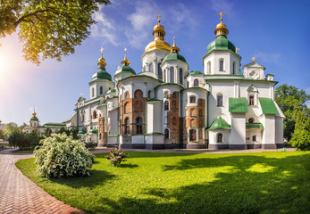 Foto auf Acrylglas Kiew Собор Святой Софии в Киеве Saint Sophia Ca