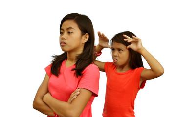 Sisters Quarrel