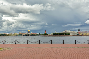 Classical view of St.-Petersburg