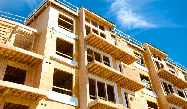 Apartment Condominium Complex, Wood Frame Construction, Victoria, Canada