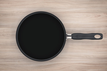 empty saucepan
