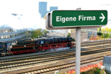 Schild 150 - Eigene Firma