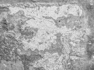 Fotobehang Oude vuile getextureerde muur Grunge gray background. wall with texture