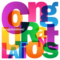"""CONGRATULATIONS"" Card"