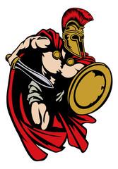 Spartan Roman or Trojan Gladiator Ancient Greek Warrior