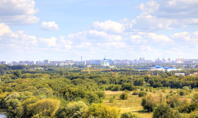Moscow. Urban landscape