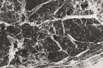 Black and white marble surface, background, texture
