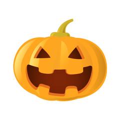 pumpkin jack o lantern, vector