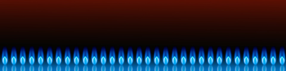 Banner for the site selling natural gas.