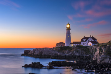 Portland Head Light Wall mural