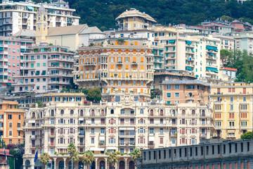 Genoa. Old quarters.