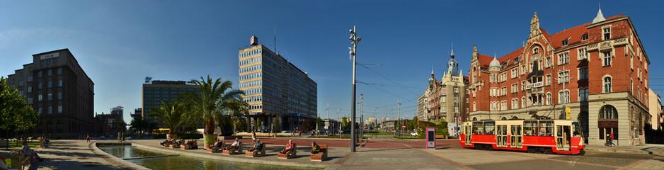 Katowice - Silesian Museum & Main Square
