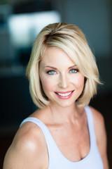 Casual Blonde Woman Headshot