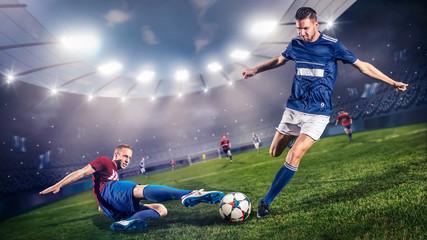 Duell im Fußball
