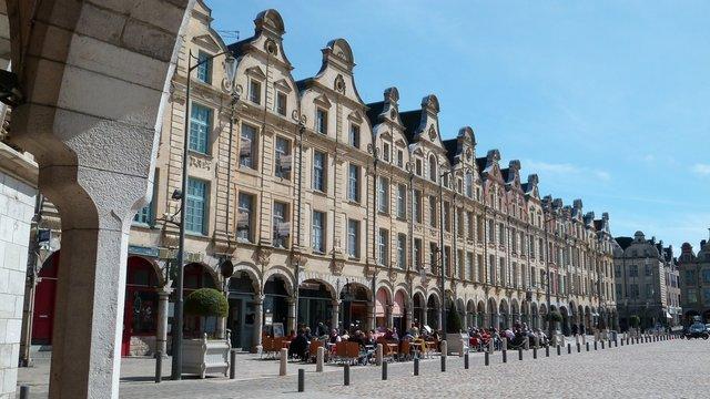 Place des Héros à Arras (France)