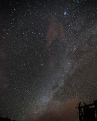Low Angle View Of Milky Way