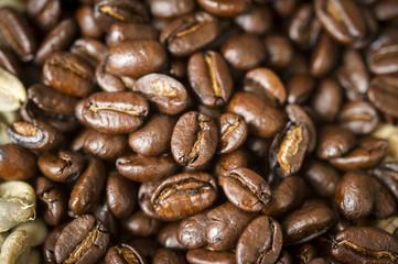 Roasted Ethiopian coffee beans, Takoma Park, Maryland, United States of America