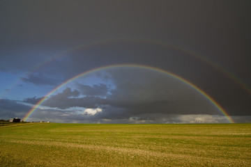 Double Rainbow, Hertfordshire, England