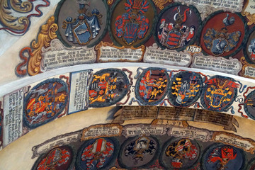 Coats of arms heraldry of Bohemian nobility