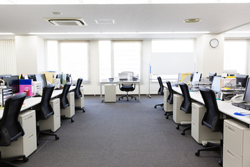 interior of small business office
