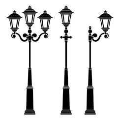 street lamps collection