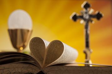 I Love religion for christianity background