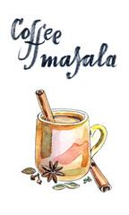 Indian coffee masala